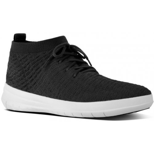 FitFlop ÜBERKNIT™  SLIP-ON HIGH-TOP SNEAKERS in WAFFLE KNIT