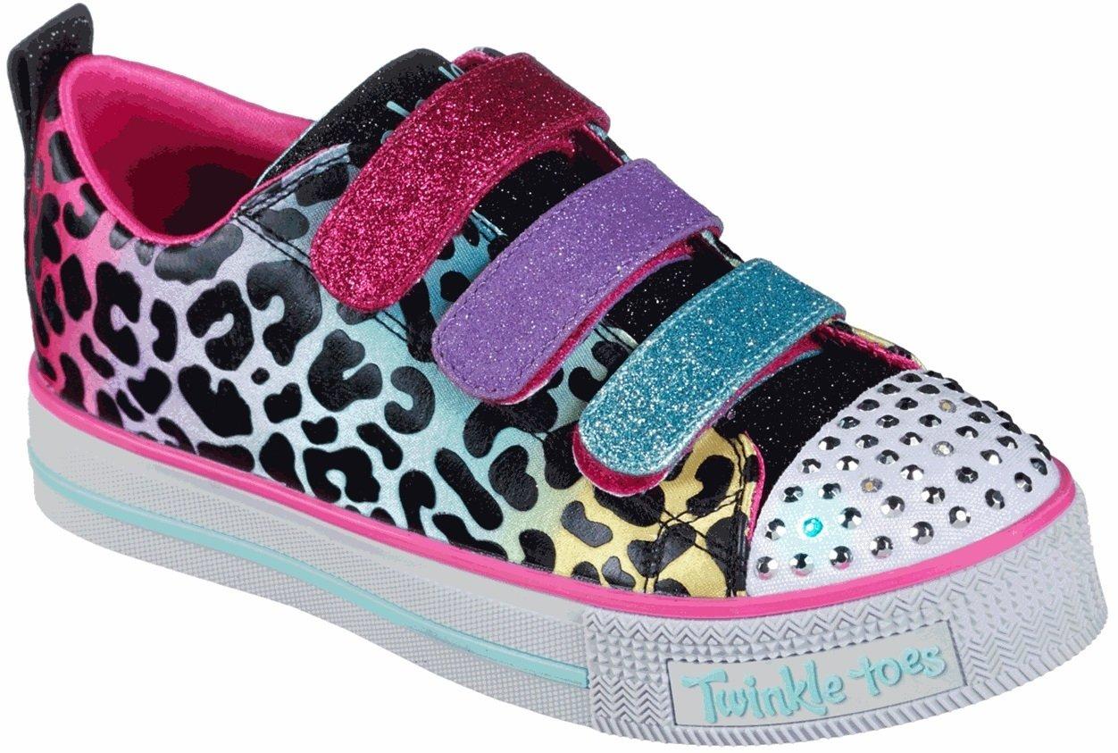 pasión transferir Banco  Skechers Twinkle Toes: Twinkle Lite - Sparkle Spots 20301L, Shoes