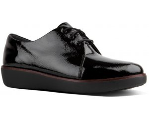 FITFLOP SUPERDERBY™ LACE UP SHOES - LEATHER
