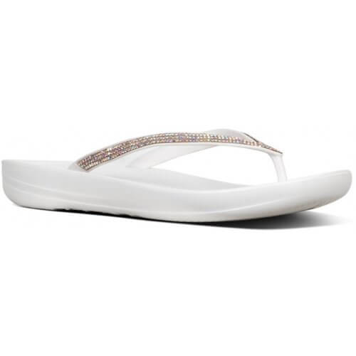 FitFlop iQUSHION™ SPARKLE ERGONOMIC TOE-THONGS