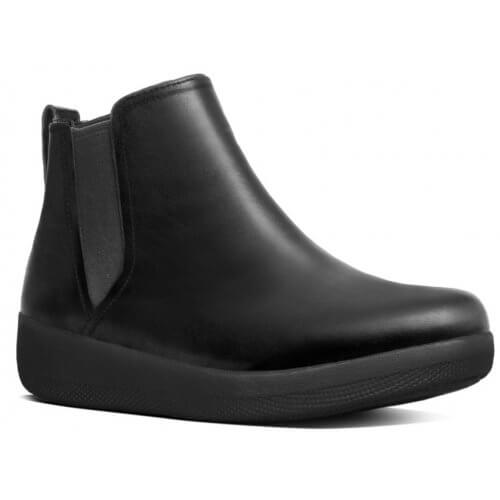 FitFlop SUPERCHELSEA™ LEATHER CHELSEA BOOTS