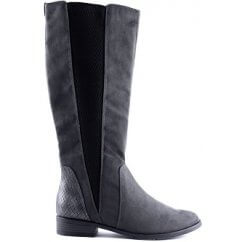 57448a56667 Knee High Boots  Black