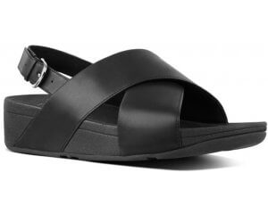 FitFlop LULU™ LEATHER BACK-STRAP SANDALS