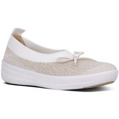 FitFlop UBERKNIT™ SLIP-ON BALLERINA WITH BOW