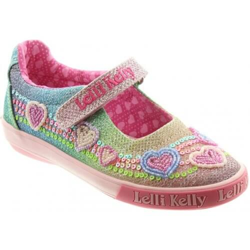 Lelli Kelly Rainbow Hearts LK5072