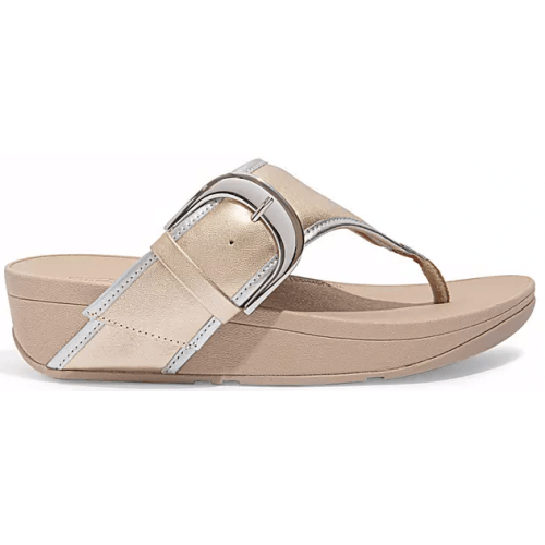 Fitflop OLIVE™ MIXED METAL TOE-POST SANDALS