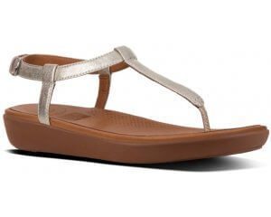FitFlop TIA™ LEATHER BACK-STRAP SANDALS