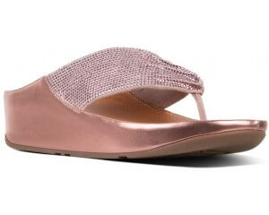 FitFlop TWISS™ CRYSTAL TOE-THONGS