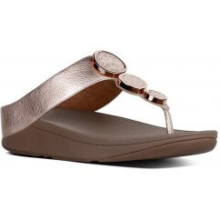 FitFlop HALO™ LEATHER TOE-THONG SANDALS